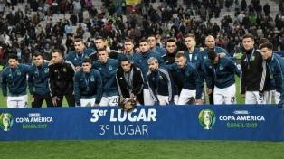 La Argentina logró el tercer puesto y se despidió con una sonrisa de la Copa