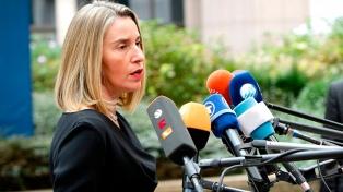 La UE advierte que habrá más sanciones si fracasa el diálogo