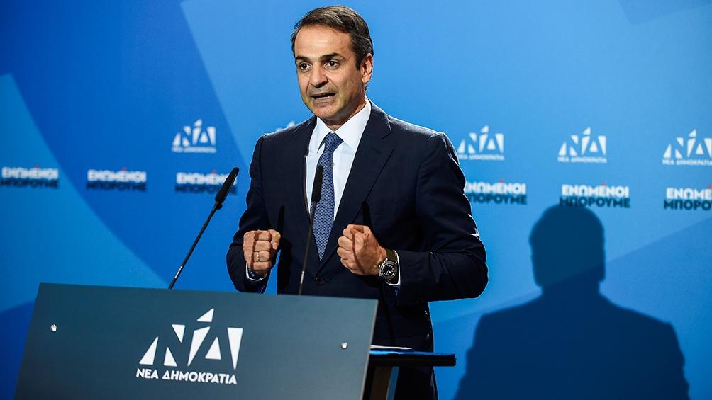 Kyriakos Mitsotakis, primer ministro electo