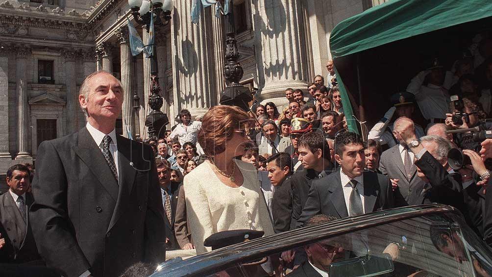 """""""Chupete"""" asumió la presidencia el 10 de diciembre de 1999."""