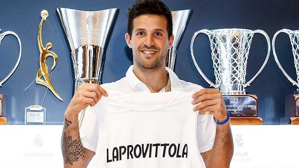 Laprovittola recién llegado al Real.