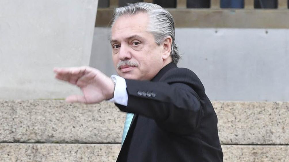 El precandidato presidencial Alberto Fernández declaró en Comodoro Py