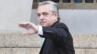 """Alberto Fernández: """"Estamos empezando una campaña nuevamente"""""""