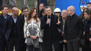 """Macri inauguró el viaducto San Martín: """"No queremos más mentiras, estafas ni corrupción"""""""