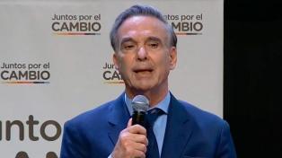 """Pichetto: """"Vamos a terminar este tema en octubre en primera vuelta"""""""