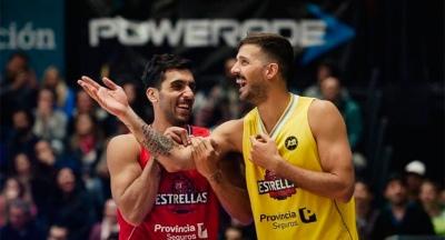 Laprovíttola y Campazzo dos de las figuras en la fiesta del básquet