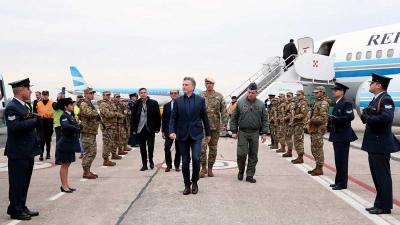 El presidente Macri visitó en Córdoba el centro espacial de la CONAE