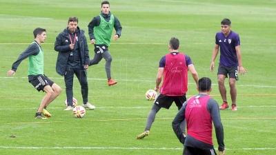 Casco y Matías Suárez se reincoporaron a los entrenamientos