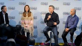 """Macri: """"No me veo un minuto gobernando sin Vidal en la provincia"""""""