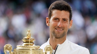 Djokovic le ganó a Federer y es campeón de Wimbledon