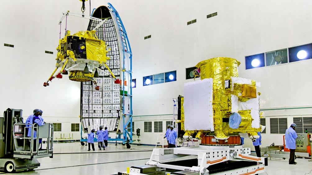 Una pérdida en un motor obligó a aplazar misión lunar india