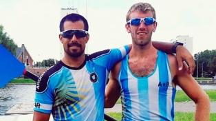 El binomio argentino Haack-Díaz terminó noveno en la Copa del Mundo de Remo en Rotterdam