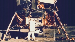 Un equipo de la NASA reconstruyó los tres minutos previos al alunizaje del Apolo 11