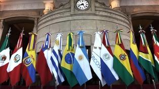 """Anticipan que Venezuela podrá reintegrarse al Mercosur """"cuando recupere su democracia en plenitud"""""""