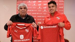"""Roa, nuevo refuerzo """"Rojo"""": """"Quiero lograr cosas importantes"""""""