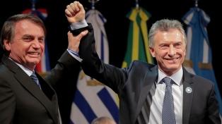 Bolsonaro pidió a los empresarios ayudar a la reelección de Macri