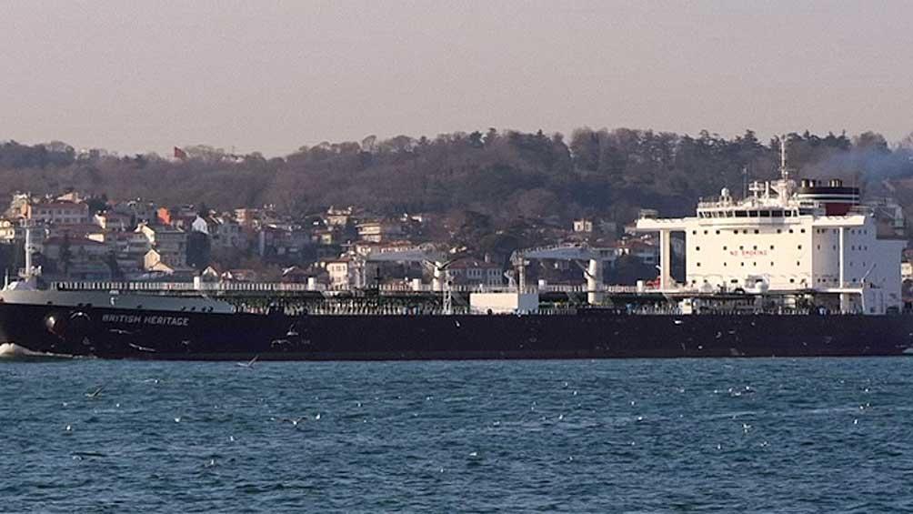 IRÁN: El Parlamento apoyó la captura del petrolero británico
