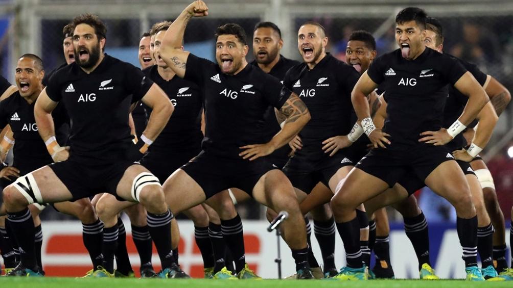 Nueva Zelanda e Inglaterra juegan una