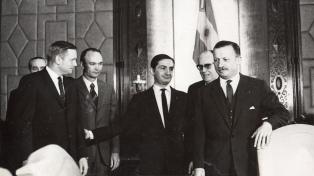 Armstrong y Collins, de la Luna a Buenos Aires