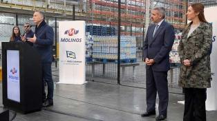 Molinos invirtió $1.200 millones en una nueva línea de producción