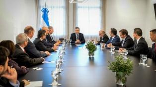 Macri recibió a congresistas de los Estados Unidos