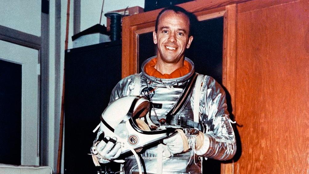 Alan Shepard.