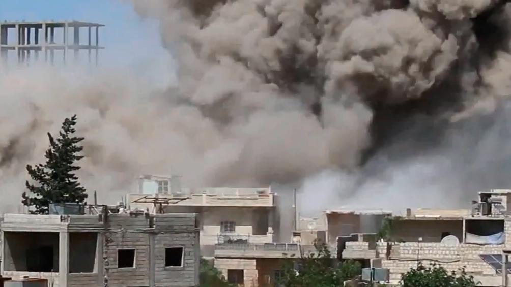 Bombardeos en el noroeste matan a una familia completa