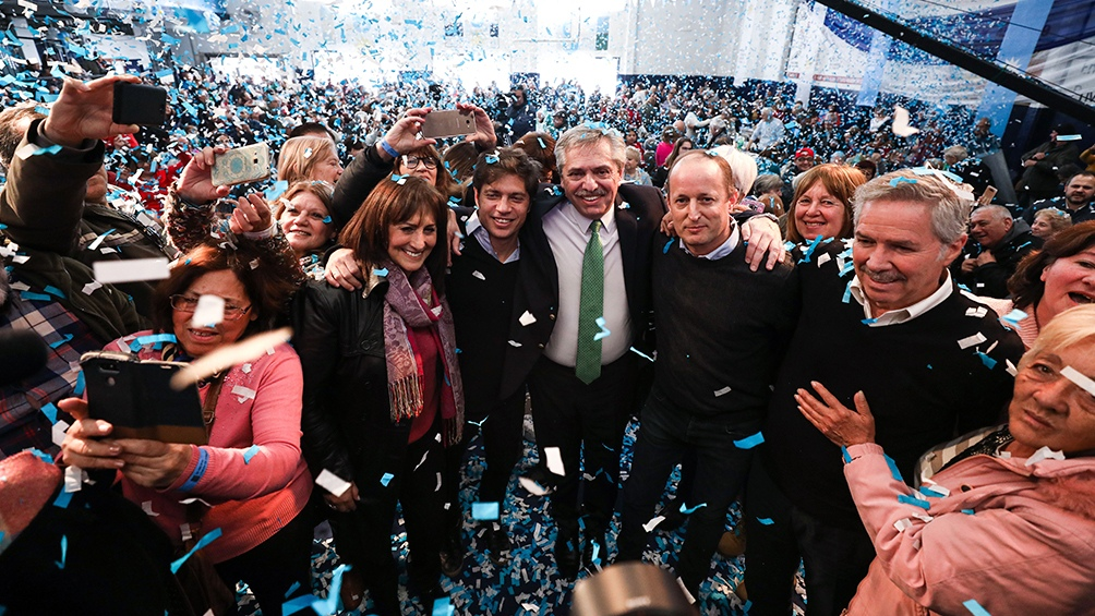 Gentileza prensa Alberto Fernández