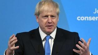 """Johnson dijo estar """"moderadamente optimista"""" respecto a un acuerdo"""
