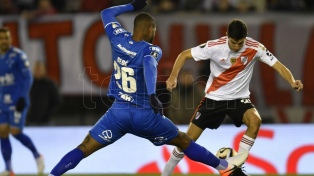 River, que falló un penal en el final, igualó ante Cruzeiro