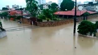 Al menos nueve muertos por fuertes lluvias en el noreste