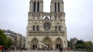 Notre Dame abrió sus puertas para dar cuenta de su restauración tras el incendio