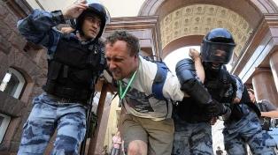 Arrestan a más de 600 manifestantes en una protesta opositora