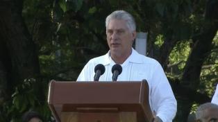 Díaz-Canel acusó a Bolsonaro de mentir sobre el plan médico cubano