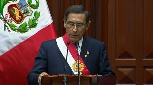 Una amplia mayoría de peruanos está de acuerdo con adelantar las elecciones presidenciales
