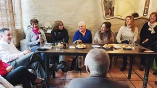 """Vidal en La Matanza: """"Juntos somos imparables"""""""