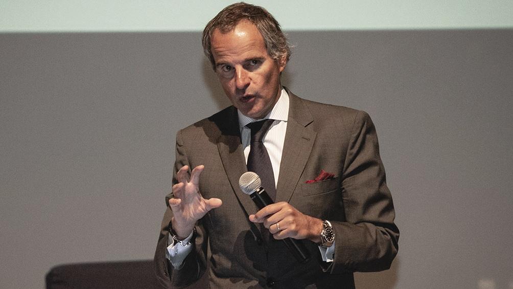 El embajador Rafael Grossi