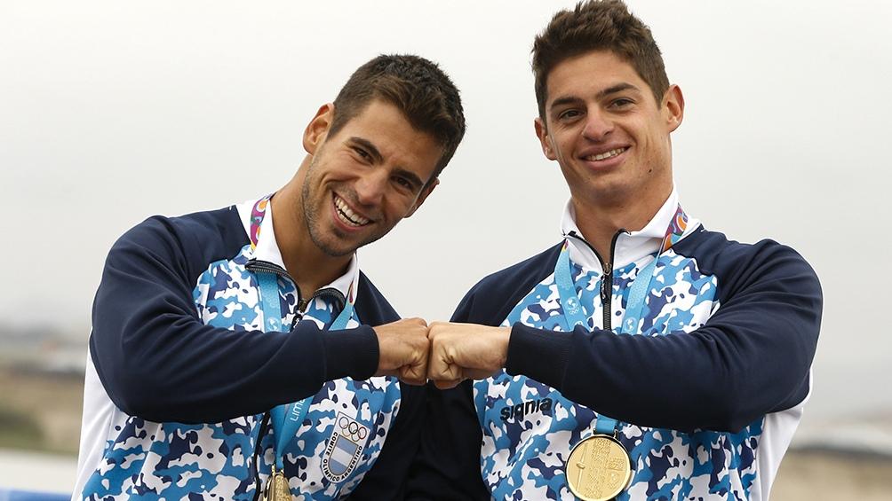En el podio fueron escoltados por los binomios de Canadá (plata) y México (bronce).