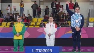Molinari ganó la medalla de bronce en anillas