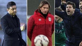 Tres entrenadores argentinos fueron nominados para los premios The Best de FIFA