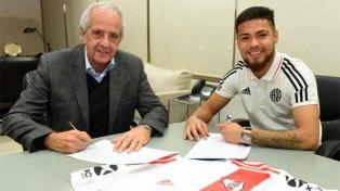 Paulo Díaz firmó su contrato y es nuevo refuerzo de River