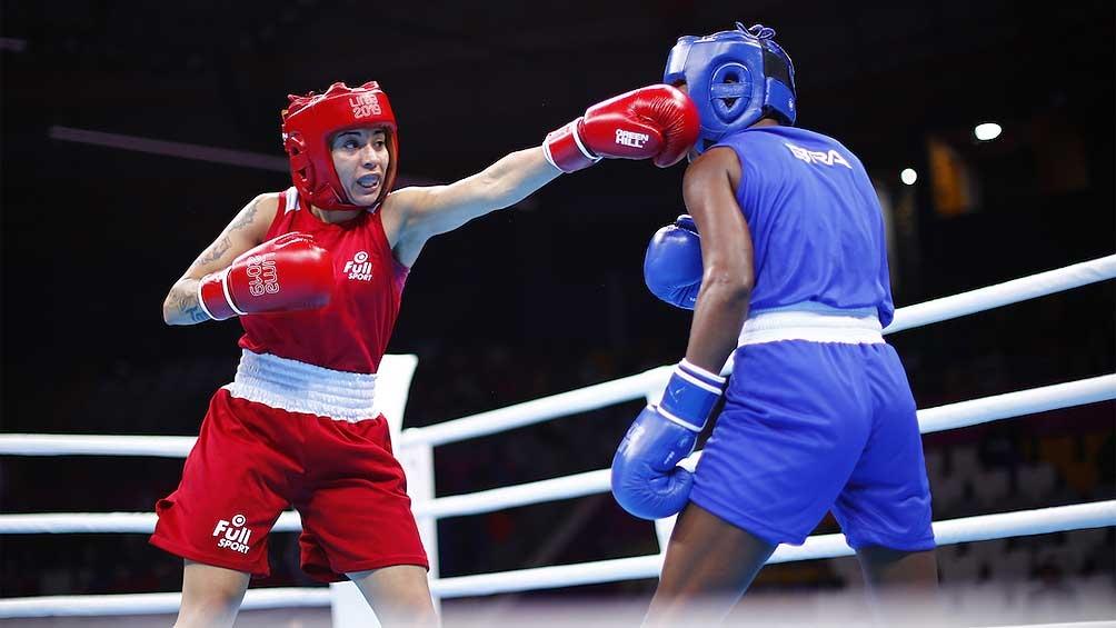 La cordobesa Leonela Sánchez venció en la final a Juliecen Cerqueira (Brasil) en la categoría de hasta 57 kilos.