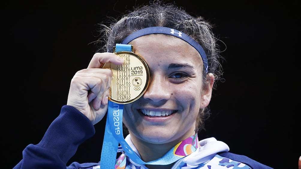 Leonela se llevó el oro. Y este viernes, su hermana Dayana puede sumar otra dorada para el boxeo..