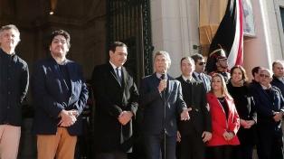 """Macri: """"Ratifico nuestro compromiso con esta revolución en la educación"""""""