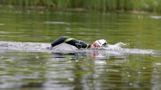 Cecilia Biagioli alcanzó medalla de plata en la prueba de Aguas Abiertas de Natación