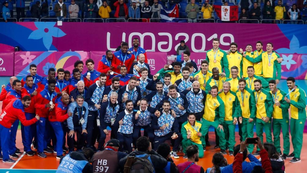 Con su oro, la Argentina postergó a Cuba (plata) y Brasil (bronce).