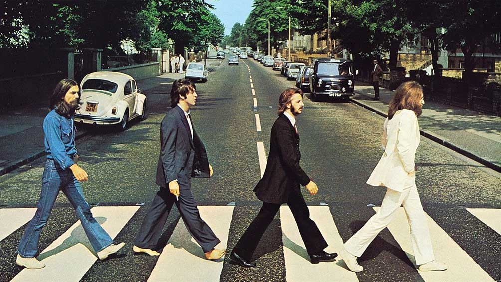 50 años de foto en Abbey Road — The Beatles