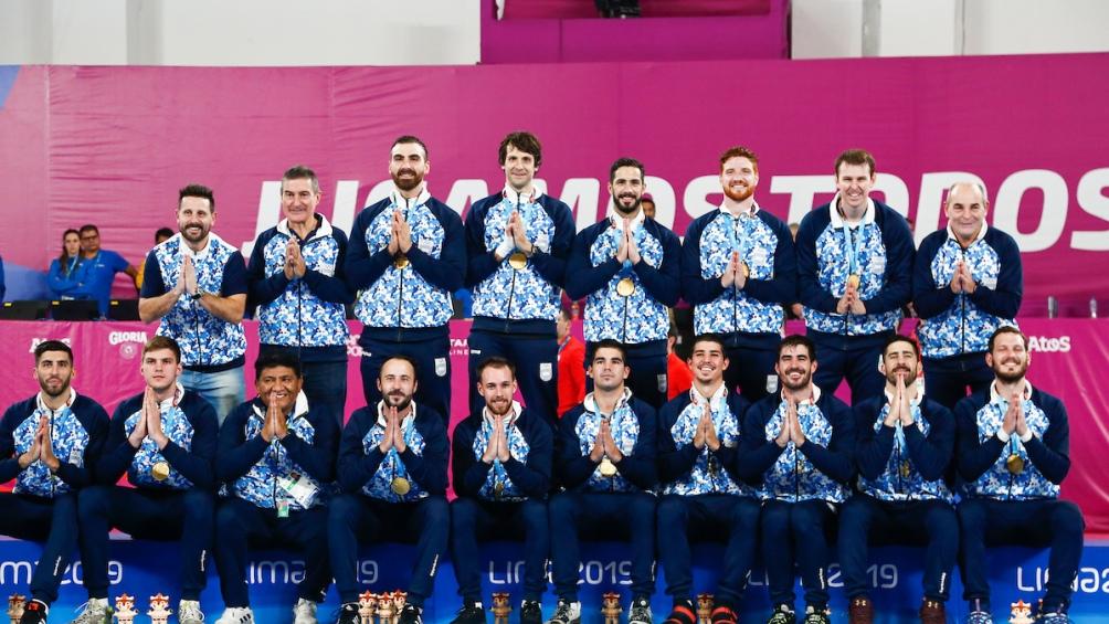 El podio dorado para el handball, el tercero consecutivo en Panamericanos. Y un saludo oriental con vistas a los Juegos Olímpicos de Tokio 2020.
