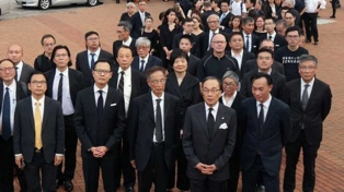 Abogados marcharon en silencio para exigir el fin de las persecuciones políticas