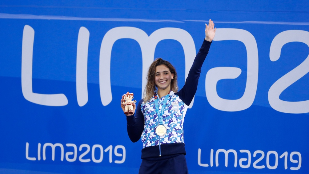 La chica de San Isidro es firme candidata a ganar otras dos medallas doradas.